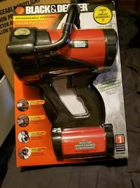 black and red Black & Decker rechargeable spot lig Creswell, 97426