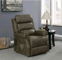 NEW!! Brown Power Litf Recliner •12 payments  $49