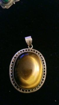 Sterling silver tiger eye cham Hyattsville, 20784