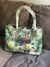 green and brown floral tote bag Germantown, 20874