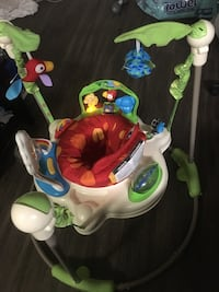 Rainforest Jumperoo. Barely used. Pristine condition. Without box. Fully assembled. Alexandria, 22306
