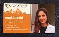Hi I'm a hard working & motivated broker, ready to help you sell your house, or buy your new home. Feel free to call me with any questions! Albuquerque, 87114