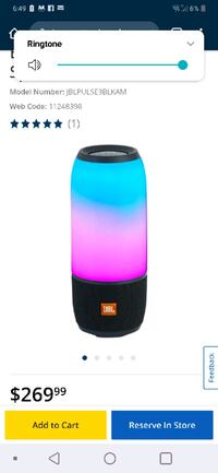 Jbl pulse 3 portable speaker Surrey, V3T 5R9