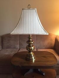 Brass lamp with shade Baltimore, 21236