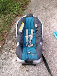 baby's blue and black car seat carrier Jacksonville, 32208