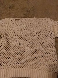 white knitted scoop neck sweater Edmonton, T5A 5E8