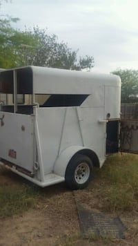 white and blue camper trailer Casa Grande, 85194