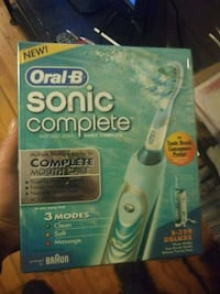 Oral B Sonic Complete toothbrush sealed in box  Denver, 80204