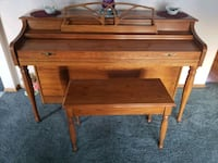 brown wooden table with chair Eugene, 97405