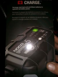NOCO genius 5 (battery charger)