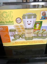 white and gray Magic Bullet blender box Clearwater, 33756