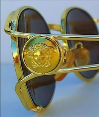 Authentic Versace Medusa rare Gold Unisex Sunglasses