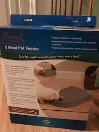Automatic 5 Meal Programmable Pet Feeder Laurel, 20724