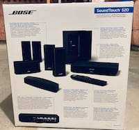 Bose SoundTouch®520 home cinema system with original packaging Mississauga, L5B 0K2