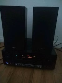 Pioneer stereo vsx-70 7.2 Channel network receiver and speakers