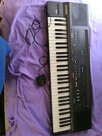 black and white electronic keyboard Muskogee, 74401