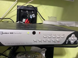 Security camera with DVR