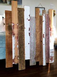 BEAUTIFUL barnwood wall decor! (handmade)  Raleigh, 27612