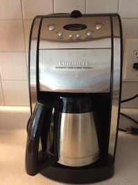 Cuisinart Coffee Maker with Grinder Ancaster