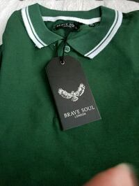 green and white Polo Ralph Lauren polo shirt Myrtle Beach, 29575