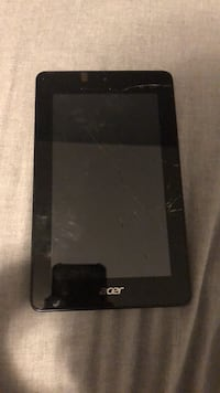 Acer Iconia One 7 Tablet broken comes with new glass Mission, V2V 7R9