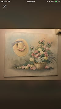 Moving sale!!!! Beautiful hand painting wall very unique  Côte-Saint-Luc, H4W 1Z1