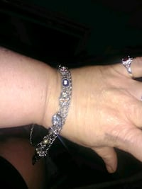 Women's Silver Bracelet With Charms