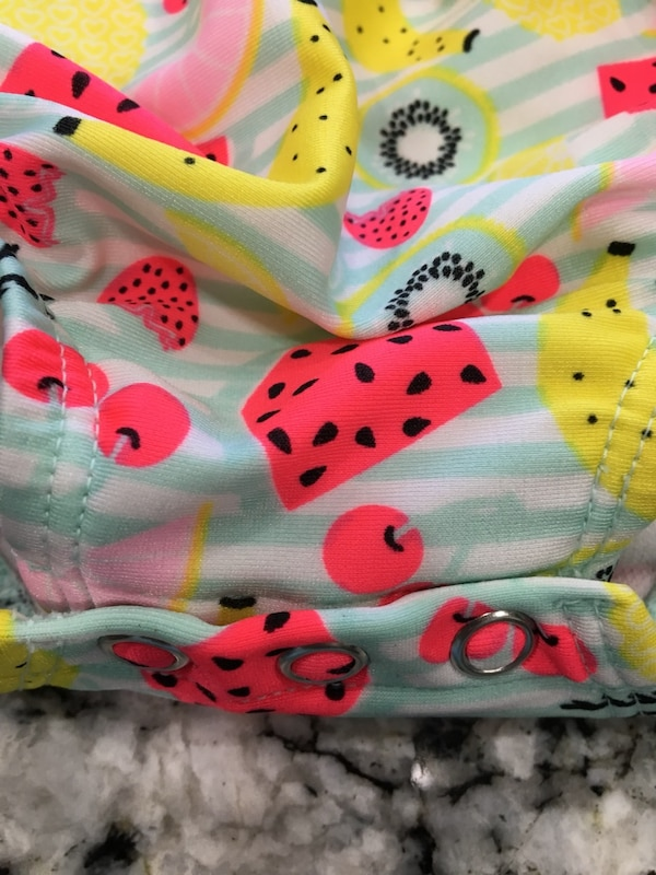 EUC.  Swim suit 3-6 mos.    clean. Price firm. 72bf2a95-f68c-4ff6-a7a5-191fea88e533