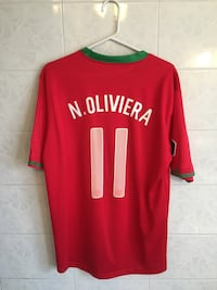 Portugal Home Jersey Nelson Oliviera New #11 Toronto, M6M