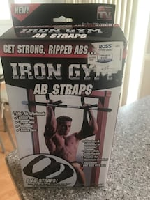 Gym ab straps $4 new in box