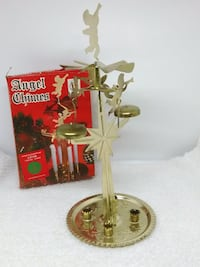 VINTAGE (40 yrs) Christmas Angel Chimes Crafted from the Original Swedish Design