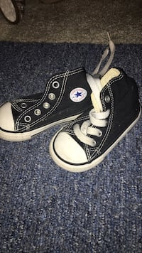 pair of black Converse All Star high-top sneakers London, N5V 1A6