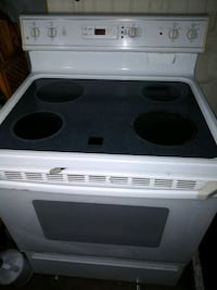Smooth surface stove