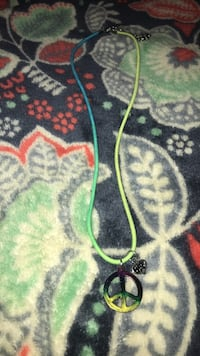 two green and red beaded necklaces Lenoir City, 37772