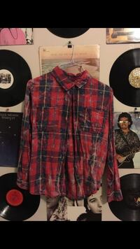 red and black checkered sports shirt Temecula, 92592