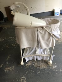 white and gray camping chair Laurel, 20723