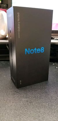 Brand New Samsung Galaxy Note 8 Mississauga, L5M 7L9