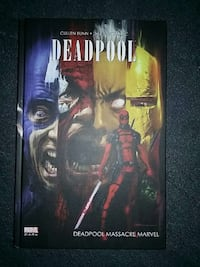 deadpool massacre marvel BD