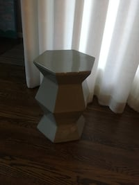 Hexagonal Side Table null