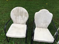two white padded armless chairs Myersville, 21773