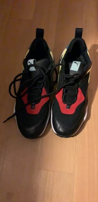 pair of black-and-red Nike running shoes Laurel, 20708