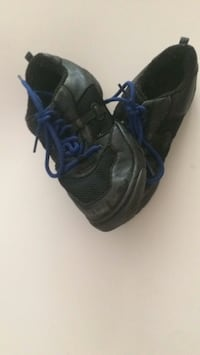 pair of black-and-blue Nike running shoes Fort Mill, 29715