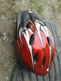 red and white bicycle helmet Victoria, V8W 2G5