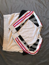 white and red Adidas track pants Troy, 48083