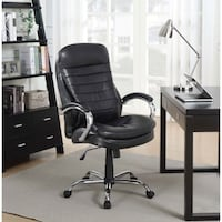 NEW IN BOX Picket House Aaron Executive Office Chair - Black