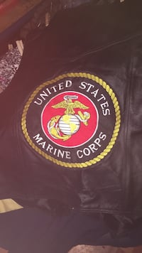 Marines Leather Vest
