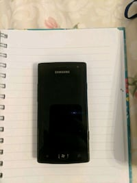 EUC Samsung Omnia W Mobile Phone no battery