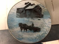 Winter Delivery collector plate - by Chris Cummings - in orig box Surrey, V3T 5L5