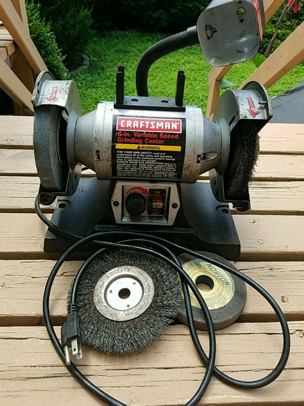 Marvelous Craftsman 6 Bench Grinder Lamtechconsult Wood Chair Design Ideas Lamtechconsultcom
