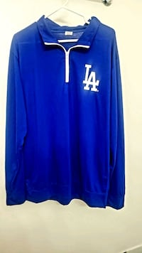 XL Dodger Pullover Jacket